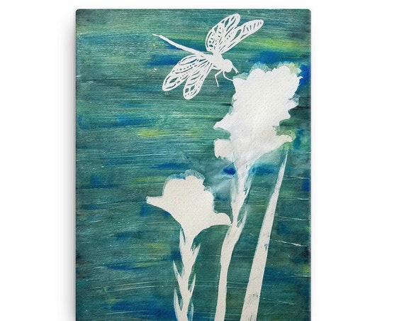 Dragon Fly Canvas Reproduction
