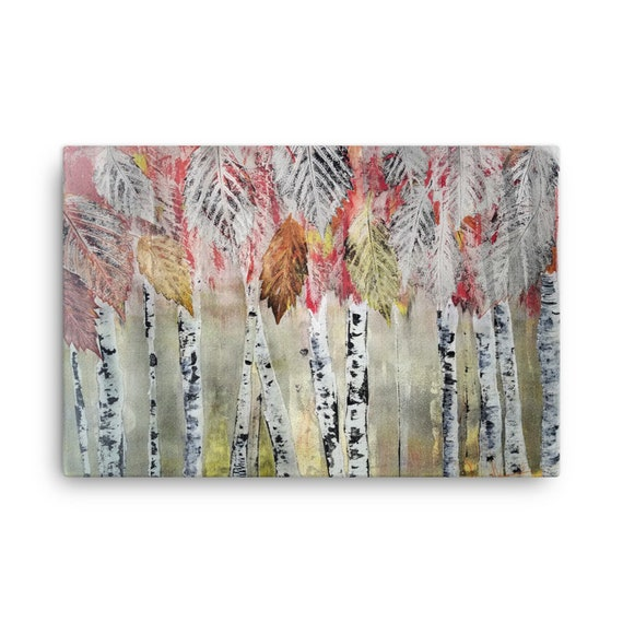 Birch Tree Canvas Repductions - Multiple sizes.