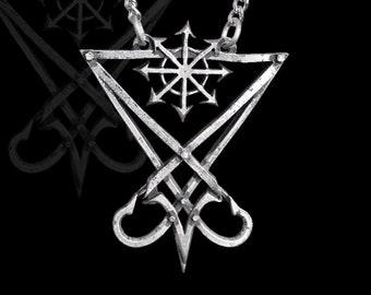 Satanic jewelry | Etsy