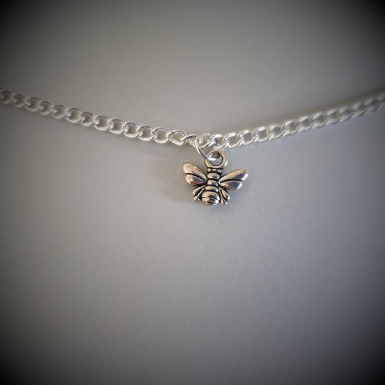 Honey Bee Choker Necklace - Handmade Unique (FREE SHIPPING WORLDWIDE)