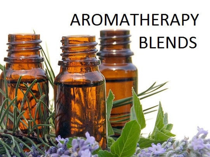AROMATHERAPY OIL Essential Oils  Breathe Deep  Grounding image 0
