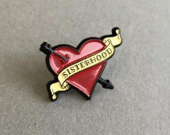 Manchester WI 'Sisterhood' Soft Enamel Pin Badge