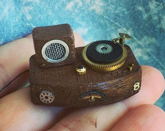 Itty Bitty Little Vintage Turntable Stereo