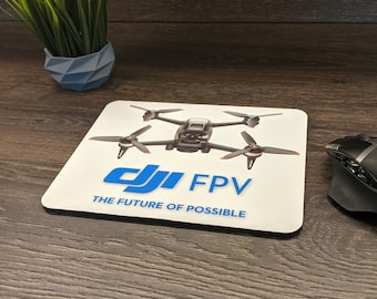 DJI FPV Drone Mouse Pad - 5mm Thick