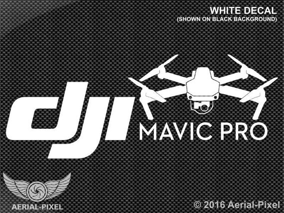 Dji mavic pro case vehicle decal sticker quadcopter uav