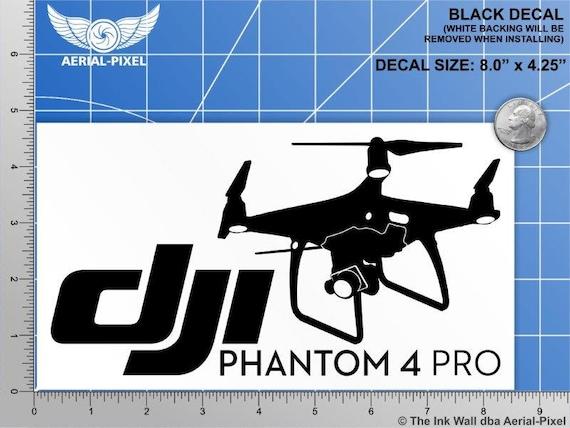 Q500 Typhoon Yuneec Drone Decal car window die cut vinyl