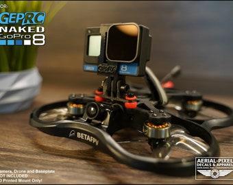 GEPRC Naked GoPro Hero 8 GoPro Compatible Mount