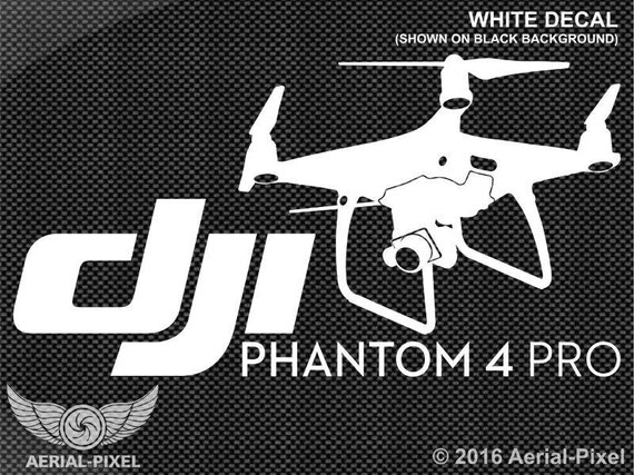 dji phantom 4 pro fall fahrzeug aufkleber sticker. Black Bedroom Furniture Sets. Home Design Ideas