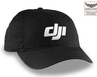 DJI Logo Hat Baseball Cap for Phantom 4 Pro, Inspire 2, Mavic 2 Pro / Zoom, Mavic Air and Spark