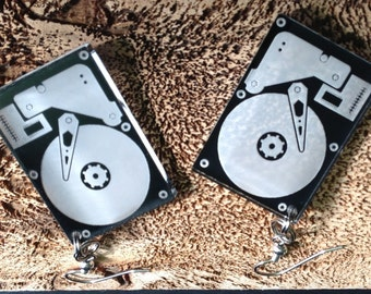 Hard Drive Earrings 1