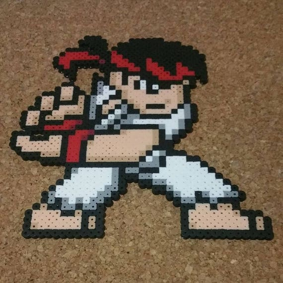 Street Fighter V Perlers 16 Bit Officially Licensed By Capcom