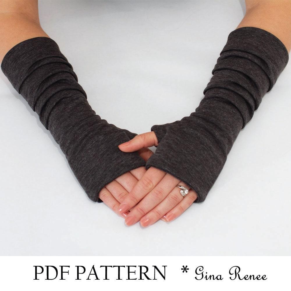 Fingerless Gloves Sewing Pattern Custom Decorating Design