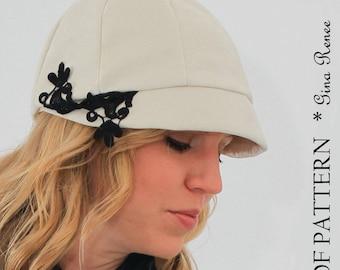 Women's Sewing Pattern.  Hat Sewing Pattern.  Short brim Hat PDF Sewing Pattern