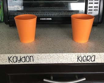 Child Name - Countertop Place