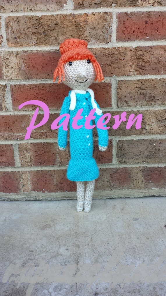 Despicable Me Lucy Inspired Crochet Pattern
