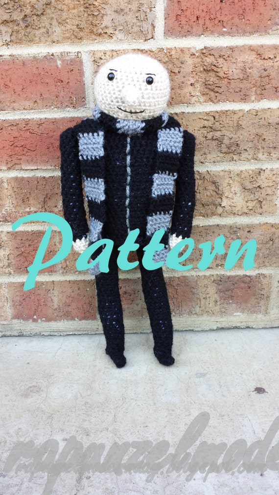Despicable Me Gru Inspired CROCHET PATTERN