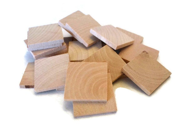 1 Pc 6 Inch X 1//2 Inch Thick Plywood Squares-Thick