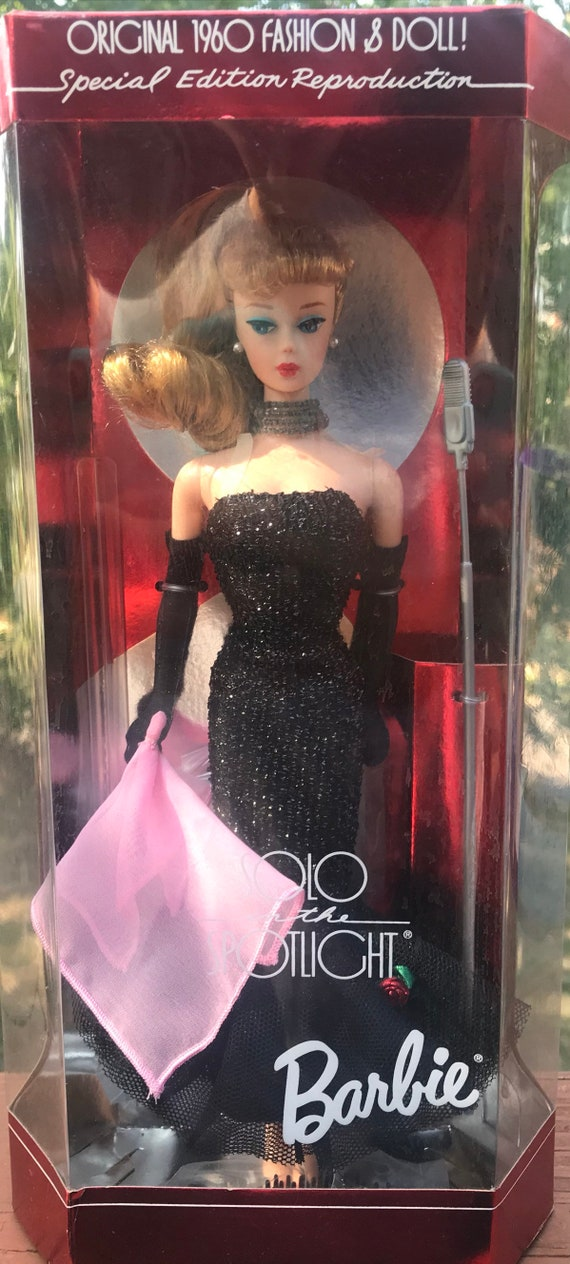 NRFB 1994 Barbie Doll Solo in the Spotlight Vintage Reproduction Brunette Ver