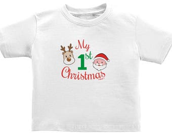 Infant Christmas My 1st Christmas Infant T-Shirt - IN-XM001
