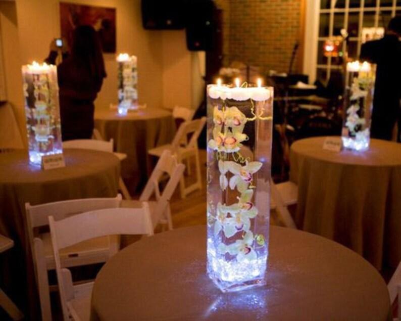 10 pcs Submersible Battery LED Tea Light Candles Flameless image 0