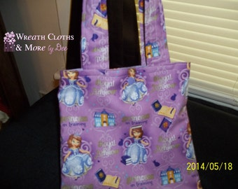 Childrens Royal Princess Tote Bag