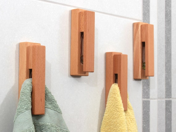 Handdoekenrek Badkamer Hout : Handdoekrek hout ecosia