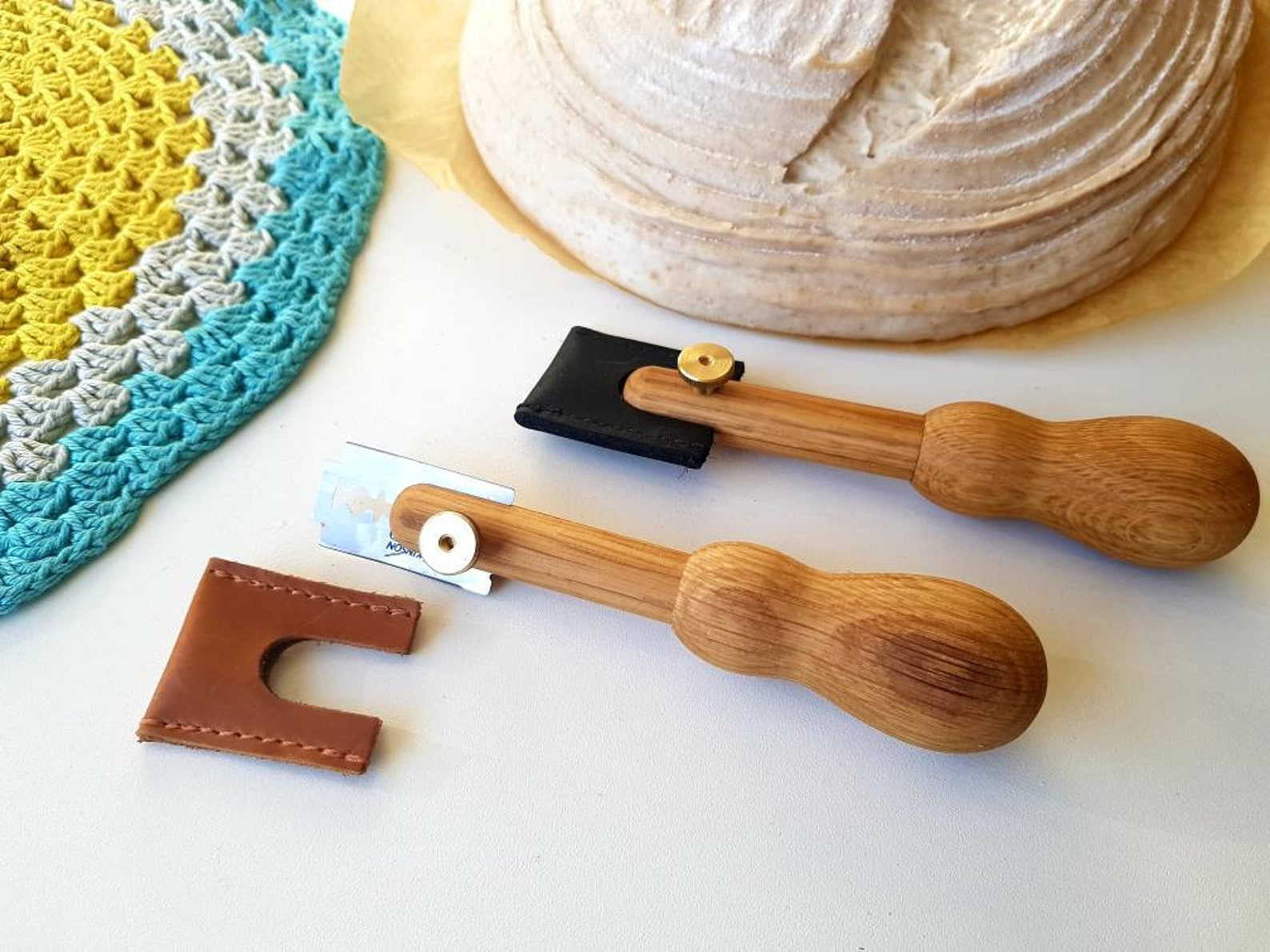 BUY this Personalized bread scoring lame from Etsy!