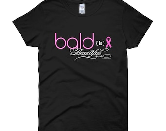 Bald is Beautiful - Breast Cancer t-shirt