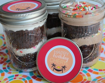Gourmet Specialty Cupcakes In A Jar by SweetSistersCupcake