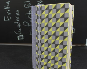 Geometrical pattern slim journal