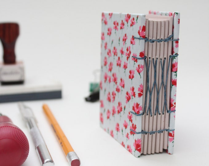 Floral Pattern Miniature Drawing Sketchbook