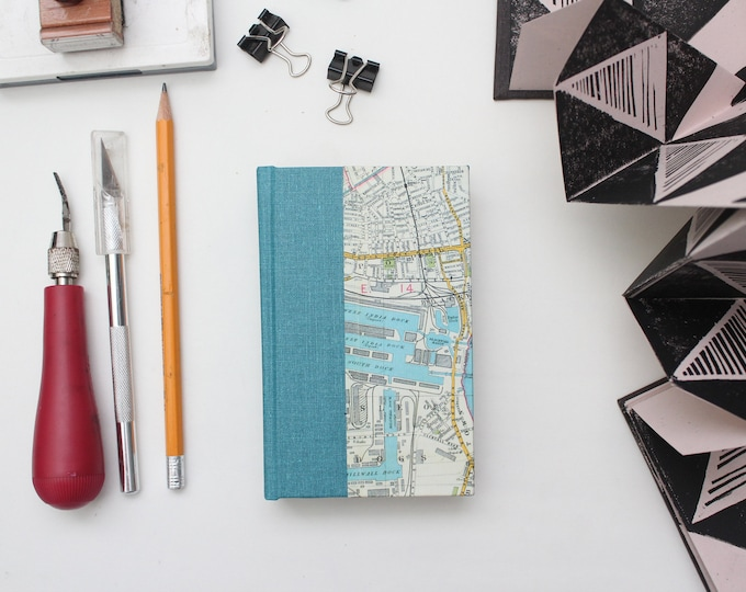 London Map Miniature Drawing Sketchbook