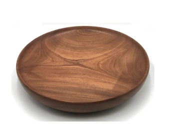 20-inch Sapele Wood Platter