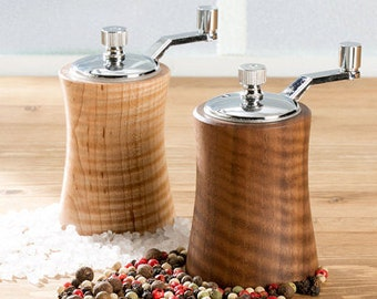 Salt and Pepper Grinders, Curly Maple