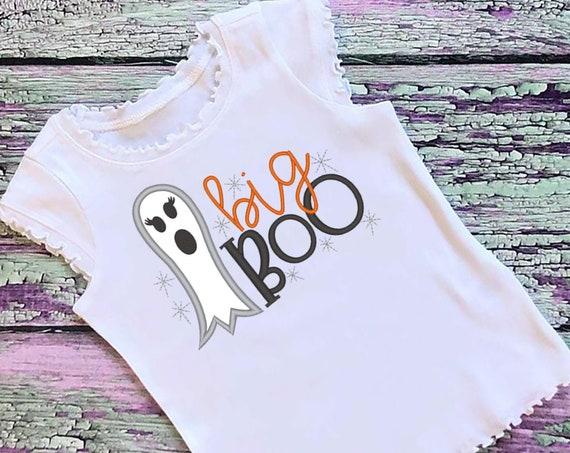 SAMPLE SALE, Big Boo Embroidered Halloween Shirt-Matching Halloween Shirt-Kids Halloween Shirt-Boys Halloween Shirt-Fall Shirt-Ghost