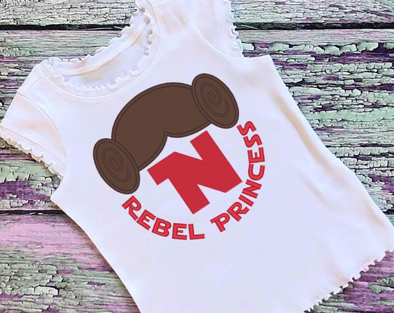 SAMPLE SALE, Star Wars Inspired Shirt - Princess Leia Birthday Shirt - Droid - Disney Vacation - Star Wars Birthday