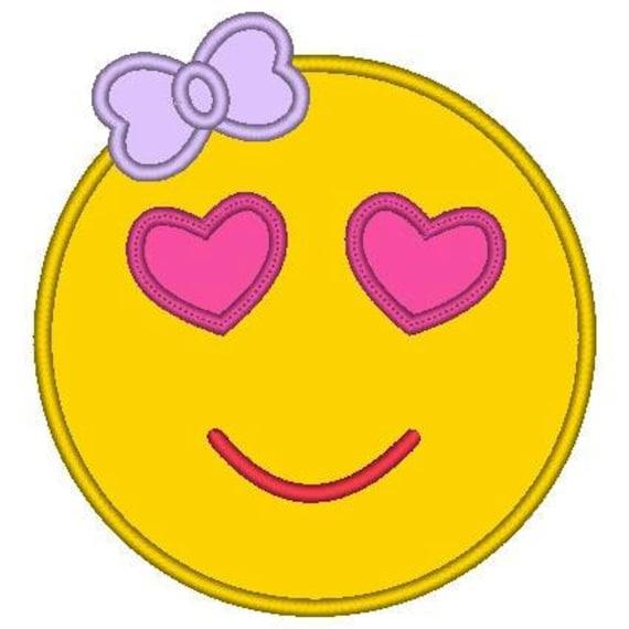 SAMPLE SALE, Heart Eyes Emoji Embroidered Shirt - Emoji Birthday - Emoji Birthday Shirt - Emoji Party - Emoji Movie
