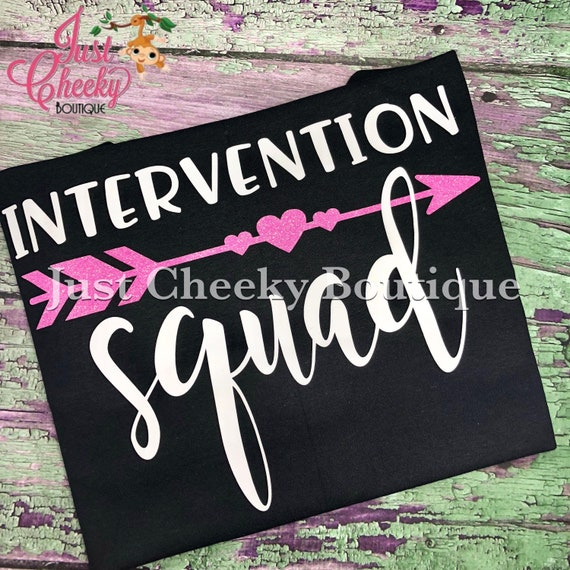 Teacher Squad Shirt - Teacher Shirt- Intervention Squad - Sped Squad - Grade Squad-