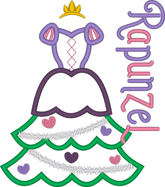 SAMPLE SALE, Rapunzel Christmas Tree Embroidered Shirt - Tangled - Disney Princess - Disney Christmas Vacation - Mickey Very Merry Christmas