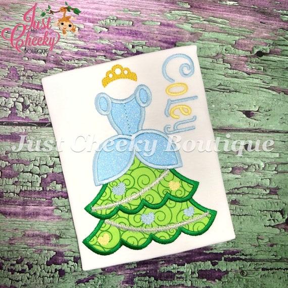 Cinderella Christmas Tree Embroidered Shirt - Disney Princess - Disney Christmas Vacation - Mickey Very Merry Christmas