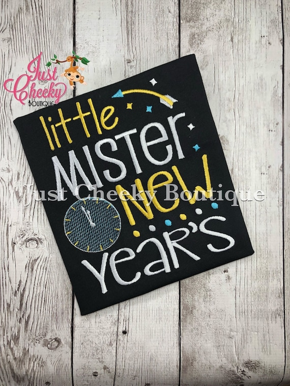 Kids New Years Shirt - Girls New Years Shirt - Boys New Years Shirt - Happy New Year - New Years Eve - Ball Drop - Midnight