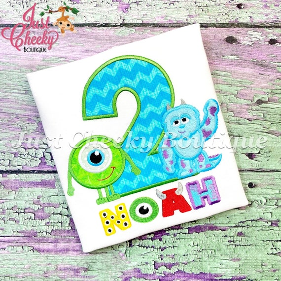 Monsters Inc Cuties Birthday Shirt - Mike Wazowski Birthday - Sully Birthday - Monsters University - Scare Floor - Scream