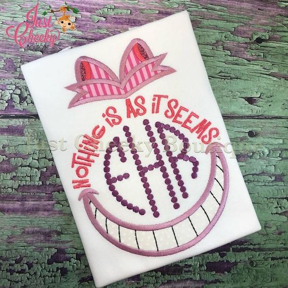 Alice in Wonderland Inspired Shirt - Cheshire Cat Birthday Shirt - Disney Vacation - Disney Princess Birthday
