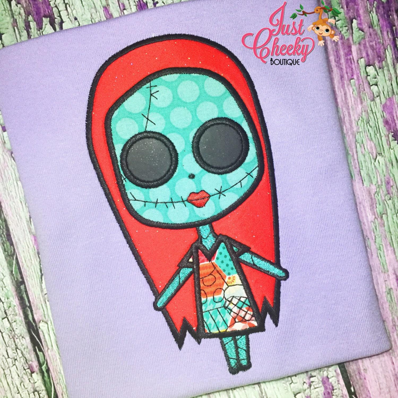 Sally Face Shirt - Sally and Jack Skellington Embroidered Shirt ...