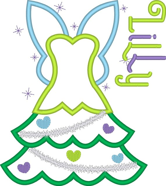 SAMPLE SALE, Tinker Bell Christmas Tree Embroidered Shirt- Tinkerbell- Peter Pan-Disney Fairy-Disney Christmas Vacation-Very Merry Christmas