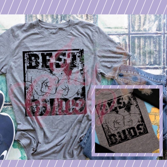 Best Buds Shirts - Daddy and Me Shirts- Uncle and Me Shirts - Matching Shirts - Best Buds for Life