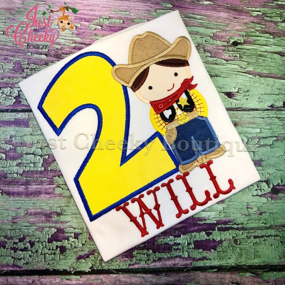 Sheriff Woody Cutie Embroidered Shirt - Toy Story Birthday Shirt - Woody's Roundup - Disney Vacation -1st Disney Trip