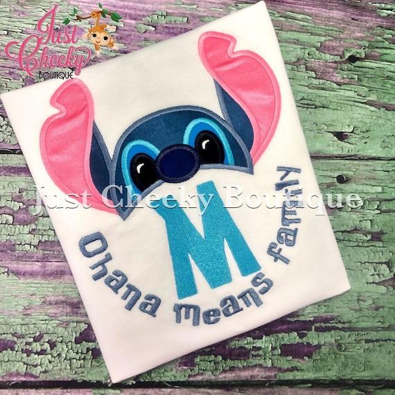 Disney Princess Inspired Shirt - Stitch Birthday Shirt - Lilo and Stitch - Disney Vacation - Disney Princess Birthday