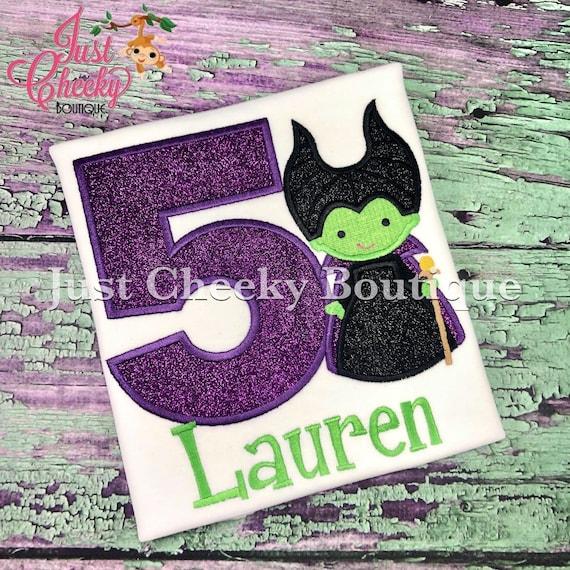 Maleficent Cutie Inspired Embroidered Shirt - Disney Villains Shirt - Disney Sleeping Beauty Birthday Shirt - Spindle - Dragon