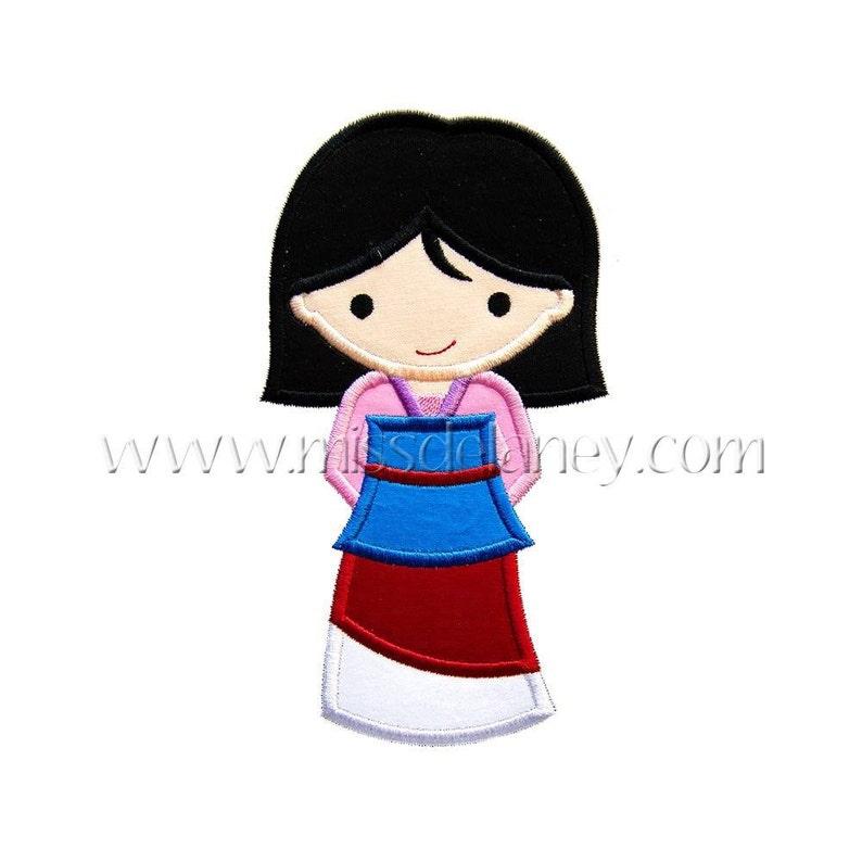 fc79fd51e7c SAMPLE SALE Princess Mulan Mulan Inspired Embroidered Shirt | Etsy